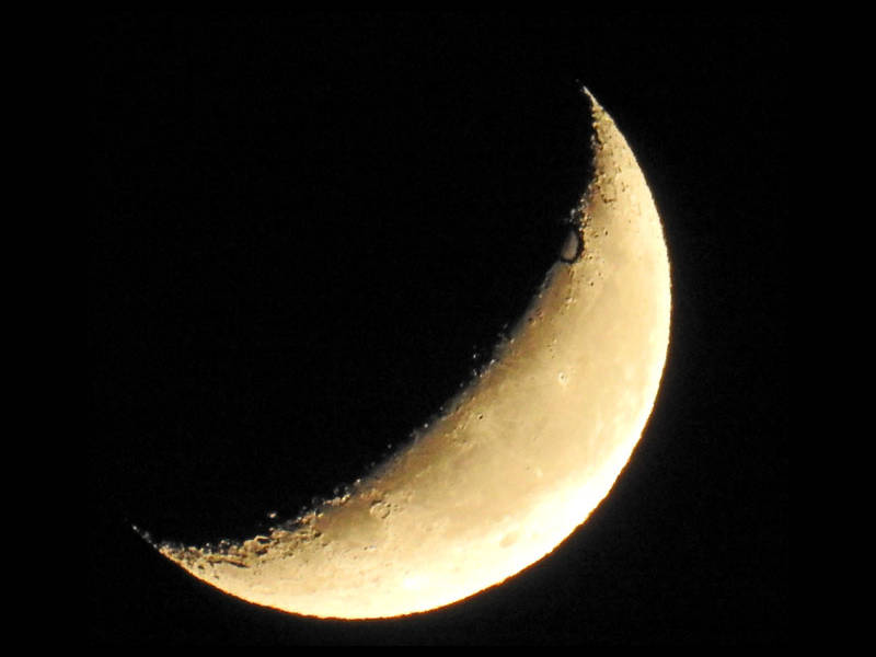 下弦の月と上弦の月のスピリチュアルのアイキャッチ画像