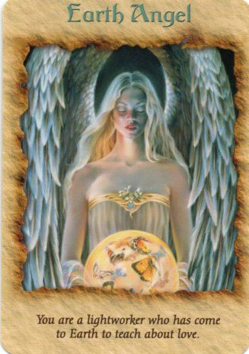 エンジェルセラピーオラクルカード Earth Angel 2021年を充実させるためのオラクル・メッセージ