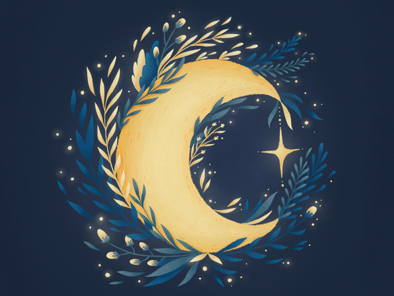 月 moon
